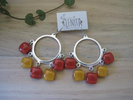 poznan-boucles-d-oreilles-ninon-rouge-terracota-jaune-curry