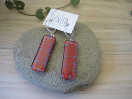 poznan-boucles-d-oreilles-rectangle-moyen-rouge-terracota-parme