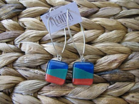 louga-boucles-d-oreilles-carree-fermoir-long-bleu-canard-vert-emeraude-rouge-terracota