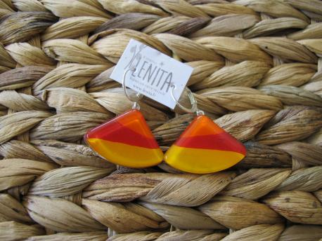 louga-boucles-d-oreilles-eventail-orange-peps-rouge-profond-jaune-orange