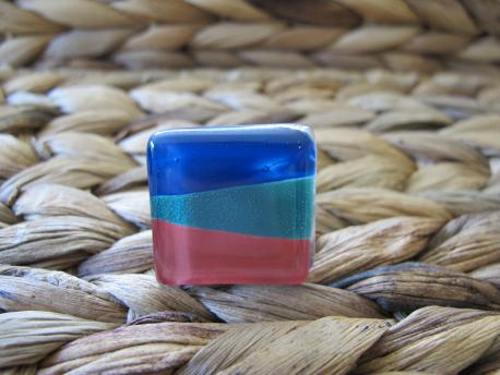 louga-bague-grand-carre-bleu-canard-vert-emeraude-rouge-terracota