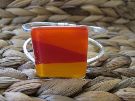 louga-bracelet-manchette-orange-peps-rouge-profond-jaune-orange