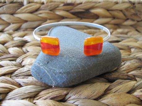 louga-bracelet-double-jonc-orange-peps-rouge-profond-jaune-orange