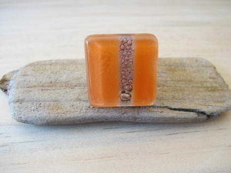 kaspali-bague-grand-carre-orange-pastel-rose-bulle